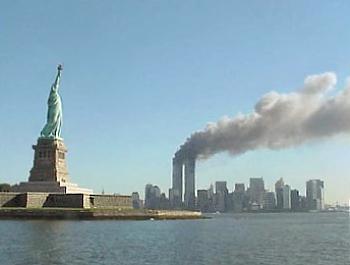 photo of the New York September 11 attacks