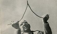 photo of Henry Gross dowsing