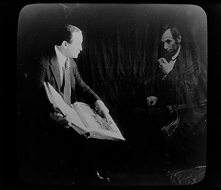 Houdini demonstrating double exposure