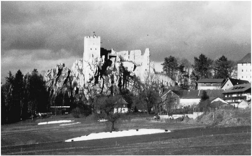 photograph of the Bavarian castle identified by Georg Neidhart as significant in his past life