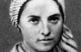 photograph of Bernadette Soubirous