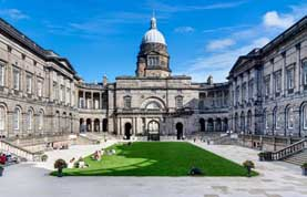 photograph of Edinburgh University