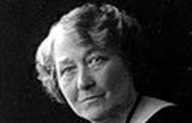 Obstetrician Florence Elizabeth Barrett, whose observations of dying women seeing visions were recorded by her husband William Barrett