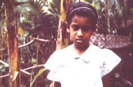Thusita Silva remembered a past life that ended by drowning