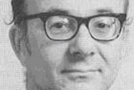 photograph of Robert Morris, first holder of the Koestler chair of parapsychology at Edinburgh University