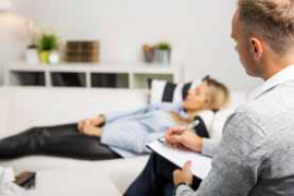 image of therapist with patient
