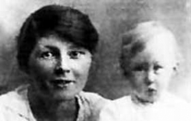 photograph of Mary Sutton with her infant son, a life recalled by Jenny Cockell