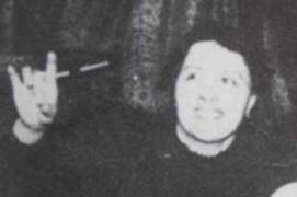 photograph of Hélène Smith (Catherine-Élise Muller)