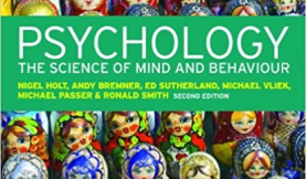 cover image of Psychology: The Science of Mind and Behaviour, by Passer and Smith