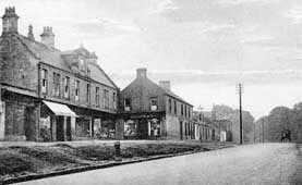 old photograph of Main Street, Sauchie