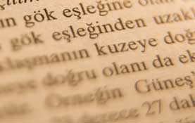image of printed page in Turkish