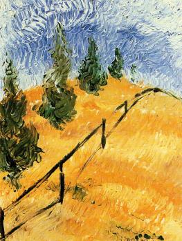 Mediumistic painting attributed to van Gogh