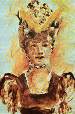 Portrait attributed to Manet