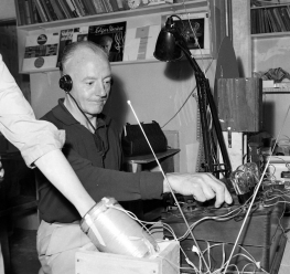 Benson Herbert experimenting at the Paralab in the 1960s
