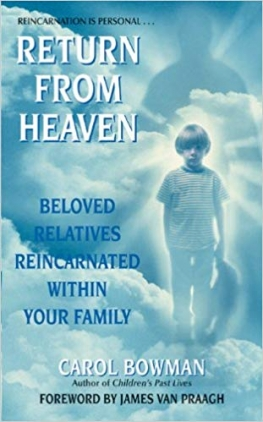 cover of 'Return from Heaven' by Carol Bowman