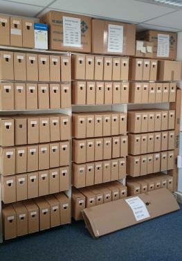 Croiset archive boxes