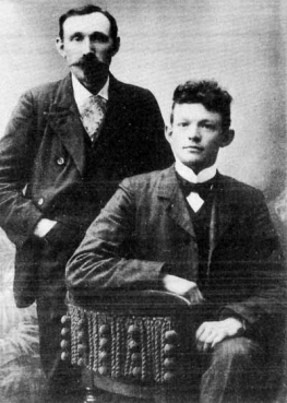 photo of Einar Kvaran and Indridi Indridason