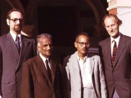 Erlendur Haraldsson and Karlis Osis, India 1973