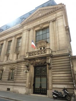 photo of the Académie Nationale de Médecine, Paris