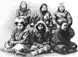 photo of Gilyak people