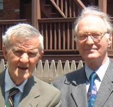 Ian Stevenson and Erlendur Haraldsson, 2004