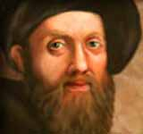 painting of Yitzhak (Isaac) Luria (1534-1572), whose Gate of Reincarnations is a principal text of the Ultra-Orthodox Hasidim