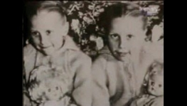photo of the Pollock twins