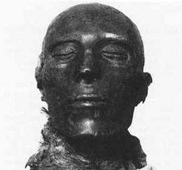photo of Seti 1 mummy