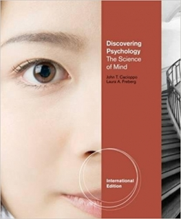 cover of Discovering Psychology, by Cacioppo and Freberg