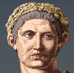 painting of the Emperor Constantiine
