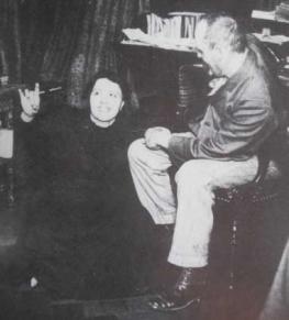photo of Hélène Smith with Théodore Flournoy
