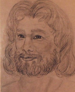an artistic impression of 'Philip' created by a group member