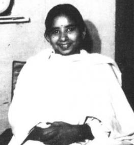 Shanti Devi as an adult
