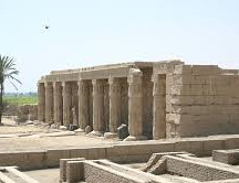 photo of the Mortuary Temple of Set1 at Abydos