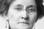 photograph of Etta Wriedt, direct voice medium