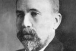 photograph of James Hyslop (1854-1920), one of the first to refer to spirit obsession in a therapeutic context