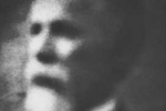 detail of a photograph obtained paranormally and said to be of Dr Bindelof