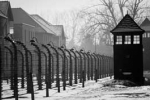 photograph of Auschwitz death camp