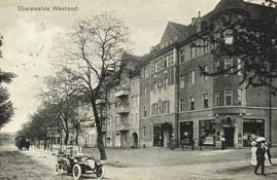 photographic postcard of Eberswalde in the nineteenth century