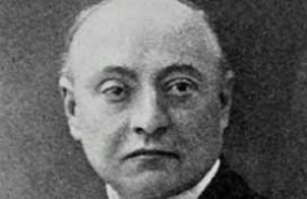 photograph of Gustave Geley (1865-192), French psi researcher