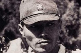 photo of face of World War II Japanese soldier